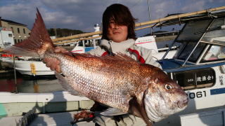鯛 釣果 20150225