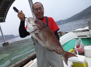 鯛 釣果 20140806